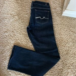 Like new denim boot cut jeans